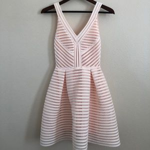 Maje dress light pink
